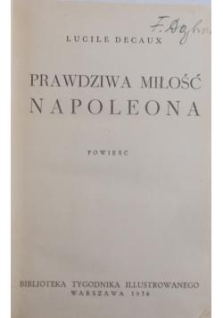 Prawdziwa miłość Napoleona, 1936 r.