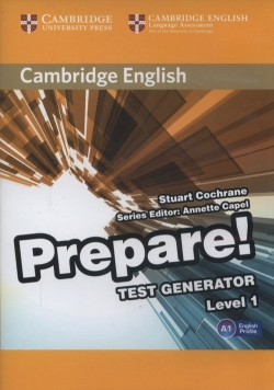 Cambridge English Prepare Test Generator CD