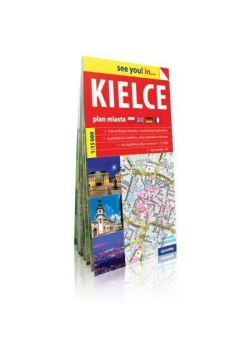 See you! in... Kielce - plan miasta 1:15 000