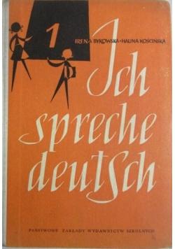 Ich spreche deutsch