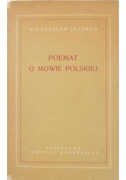 Poemat o mowie polskiej