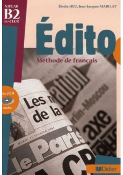 Edito, methode de francais +CD