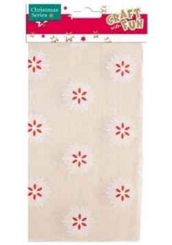 Ozdoba dekoracyjna tkanina 45x50cm
