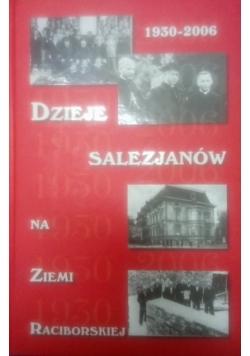 1930-2006 dzieje Salezjanów na ziemi Raciborskiej