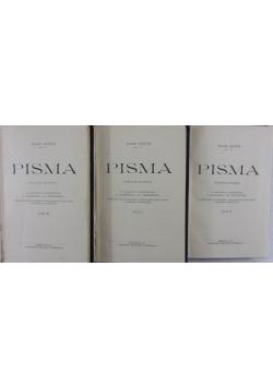 Pisma, 1916r, t:I-III