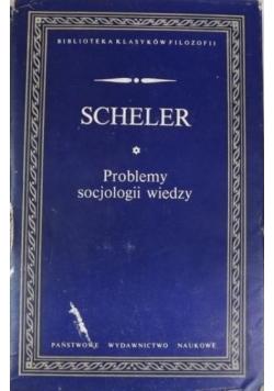 Problemy socjologii wiedzy.