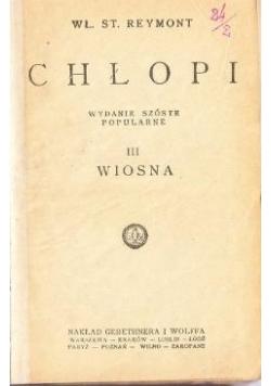 Chłopi III Wiosna, 1925 r.