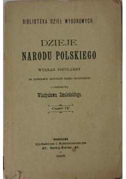 Dzieje Narodu Polskiego część IV , 1898r.