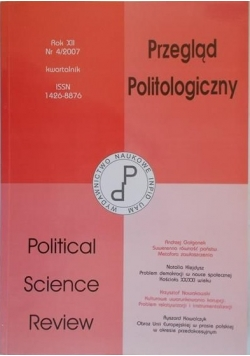 Przegląd Politologiczny