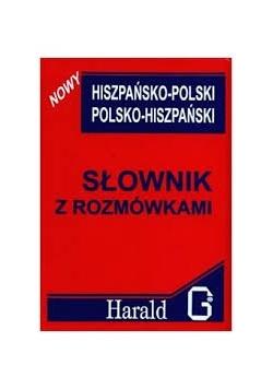 Słownik z rozmówkami hiszpańsko - polski, polsko - hiszpański