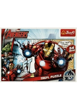 Puzzle 54 mini Drużyna Avengers 3 TREFL