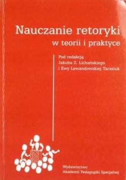 Nauczanie retoryki w teorii i praktyce