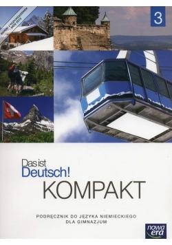 Das ist Deutsch! Kompakt 3 Podręcznik