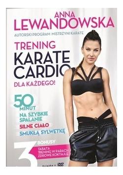 Trening Karate Cardio dla każdego + płyta DVD, Książka z autografem Anny Lewandowskiej