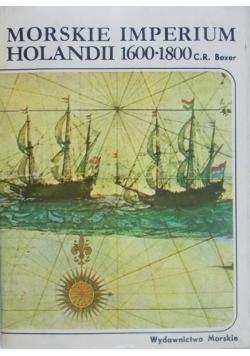 Morskie imperium Holandii 1600 - 1800