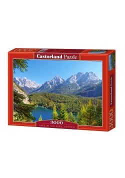 Puzzle 3000 Jezioro w Alpach CASTOR