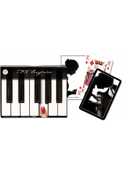 """Karty standard """"F. Chopin"""" PIATNIK"""