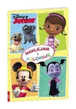Naklejam i koloruję. Disney Junior
