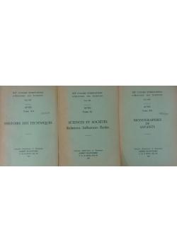 XII congress international d'histoire des sciences tom X-XII