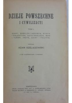 Dzieje powszechne i cywilizacyi, tom I, 1913 r.