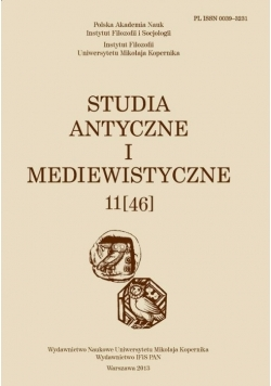 Studia Antyczne i Mediewistyczne 11 [46]