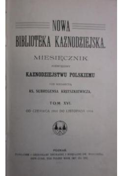 Nowa Biblioteka Kaznodziejska 1914 r. Tom XVI