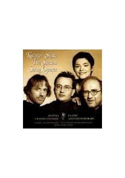 Kwartet śląski, klasyka i współczesność,  płyta CD