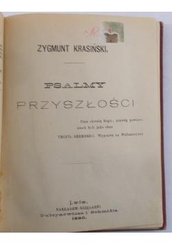 Psalmy przyszłości, 1880 r