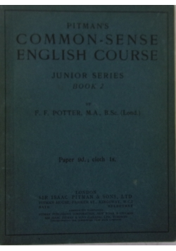 Common- Sense English Course Junior series book 2