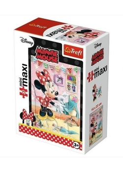 Puzzle 20 miniMaxi-Ulubione zajęcia Minnie 3 TREFL