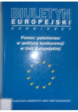 Pomoc państwa w polityce konkurencji w Unii Europejskiej