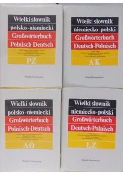 Wielki słownik niemiecko-polski, Tom I-II