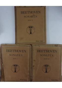 Bathoven Sonate Band I,II,III