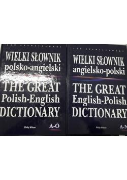 Wielki słownik polsko - angielski A - Ó \ angielsko - polski A - N