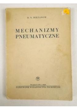 Mechanizmy pneumatyczne