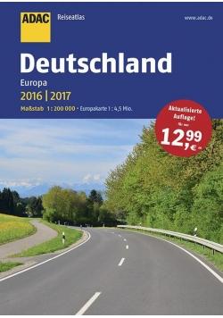 ReiseAtlas ADAC. Deutschland, Europa 2016/2017