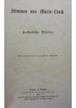 Stimmen aus Maria-Laach, 1893r.