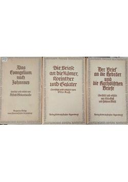 Das Neue Testament band 4 6 8, 1940 r.