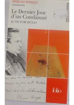 Le dernier Jour d'un condamne de Victor Hugo