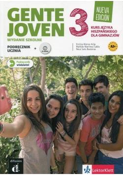 Gente Joven 3 Podręcznik wieloletni z płytą CD