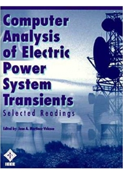Computer analysis of electric power system transients
