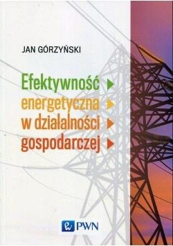 Efektywność energetyczna w działalności gospodar.