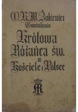 Królowa Różańca św. w Kościele i Polsce, 1935 r.