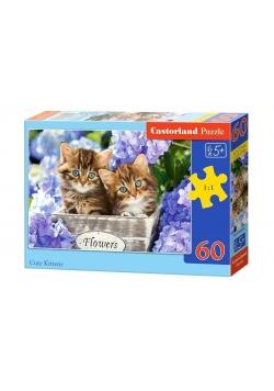Puzzle 60 Cute Kittens CASTOR