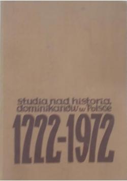 Studia nad historią dominikanów w Polsce 1222-1972