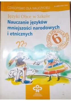 Języki  Obce w Szkole. Nauczanie języków mniejszości narodowych i etnicznych
