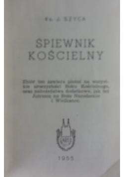Śpiewnik kościelny, 1955r