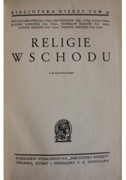 Religie Wschodnie ,1938r.