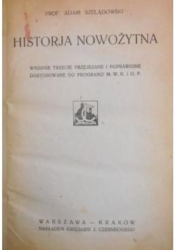 Historja nowozytna 1924 r.
