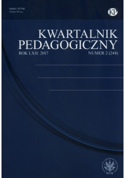 Kwartalnik Pedagogiczny 2(244)/2017